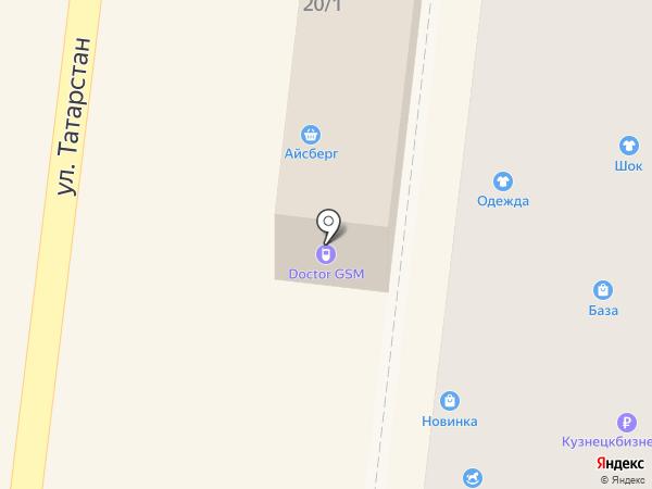Платежный терминал, Русфинанс банк на карте Зеленодольска