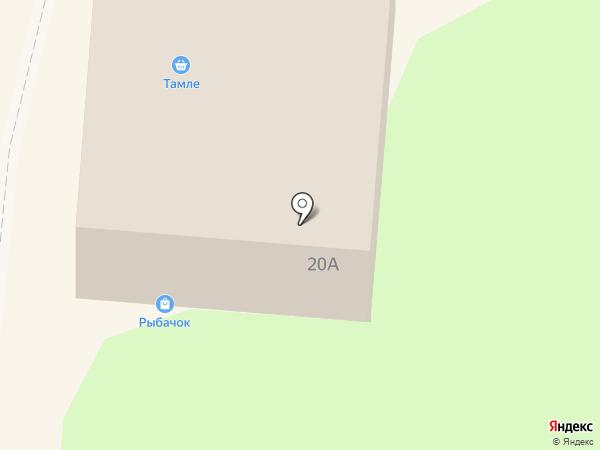 Тамле на карте Зеленодольска