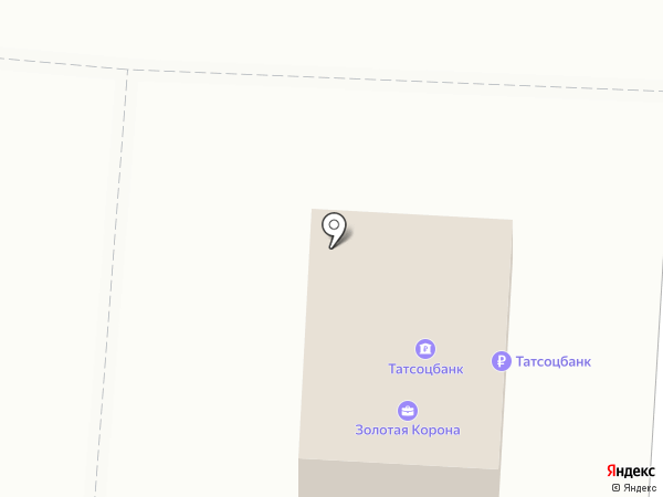 Банкомат, Татсоцбанк на карте Зеленодольска