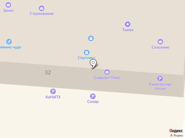 КаНаПЭ на карте Зеленодольска