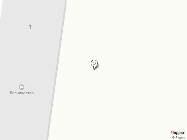 Зеленодольское участковое лесничество на карте Зеленодольска