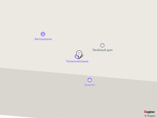 ТАВС на карте Зеленодольска