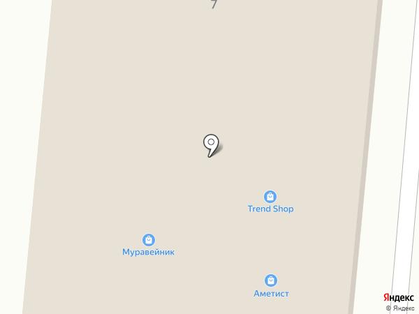 Цитадель на карте Зеленодольска