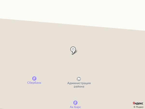 Совет Зеленодольского муниципального района на карте Зеленодольска
