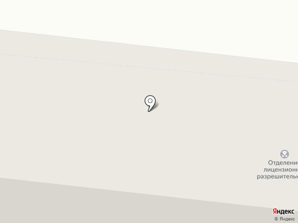 Отделение лицензионно–разрешительных работ на карте Зеленодольска