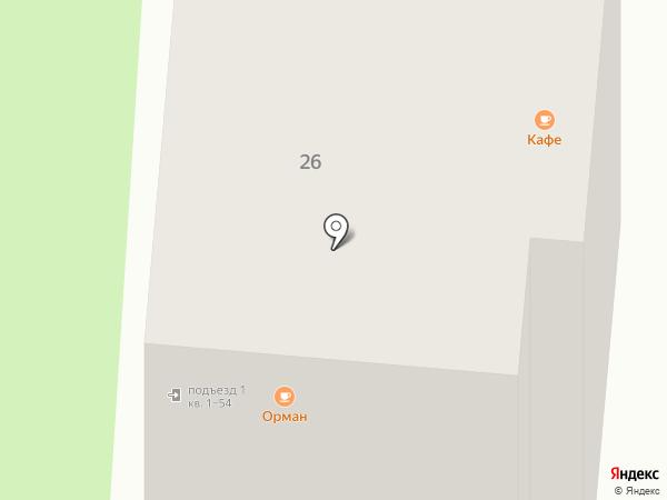 Confidence на карте Зеленодольска