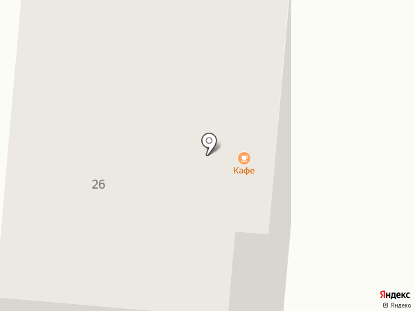 Орман на карте Зеленодольска