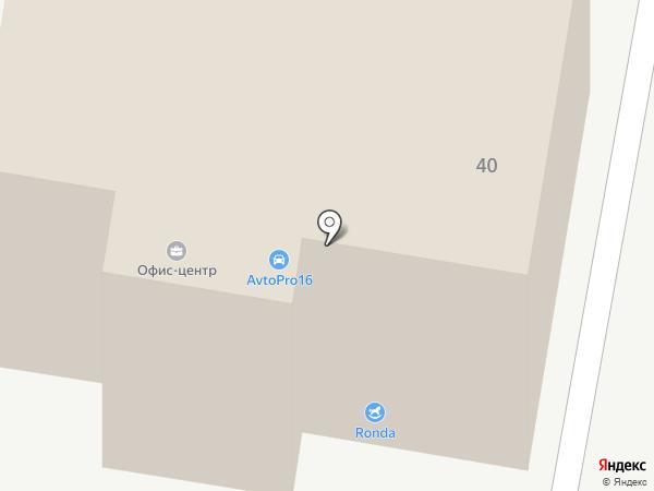 Электрон на карте Зеленодольска