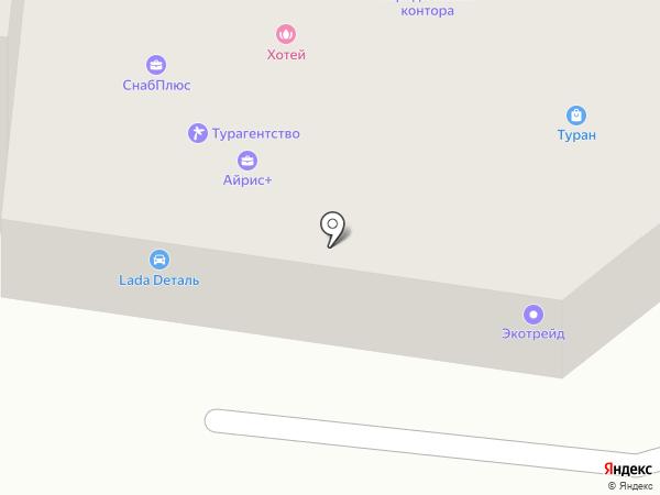 Айрис+ на карте Зеленодольска