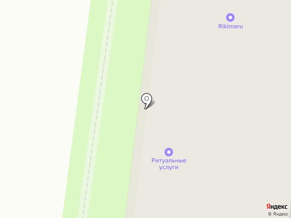 Салон ритуальных услуг на карте Зеленодольска