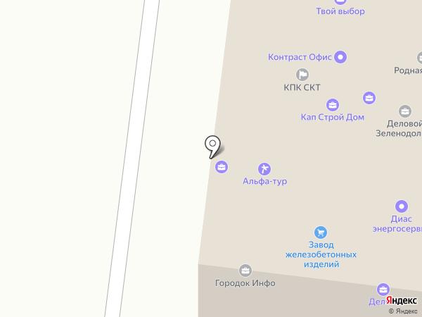 Про Город Зеленодольск на карте Зеленодольска