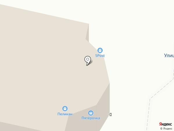 ТЦ Пеликан на карте Зеленодольска