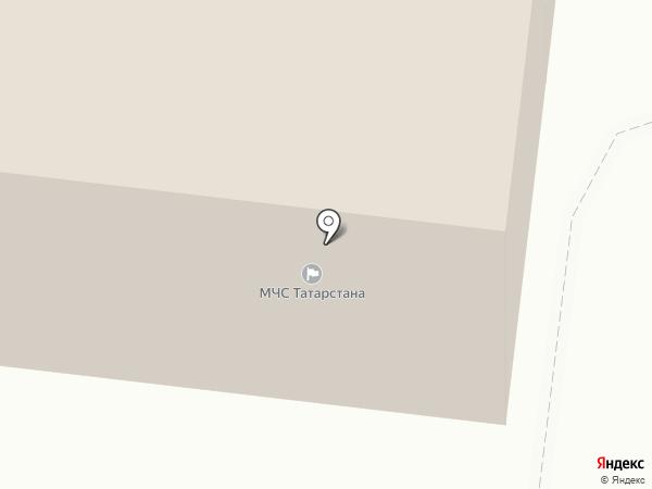 Управление МЧС Республики Татарстан по Зеленодольскому муниципальному району на карте Зеленодольска