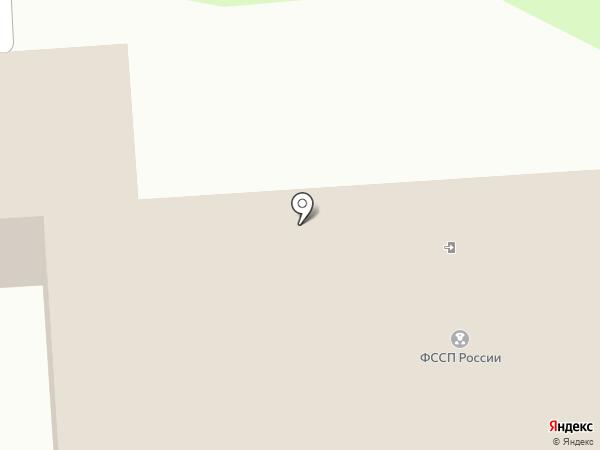 Отдел судебных приставов по Заволжскому району на карте Ульяновска