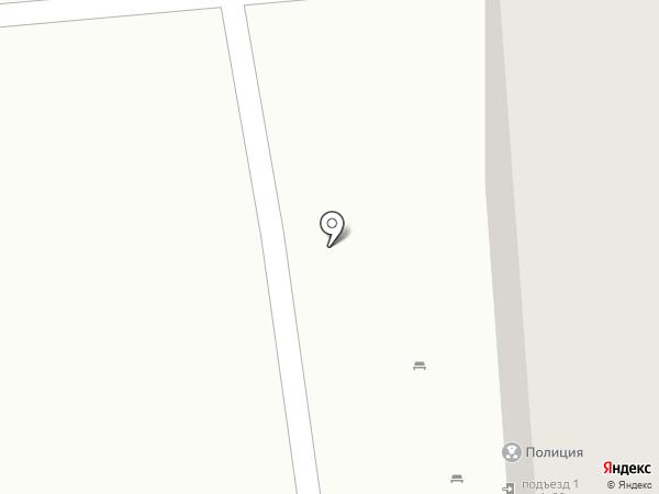 Участковый пункт полиции по Заволжскому району на карте Ульяновска