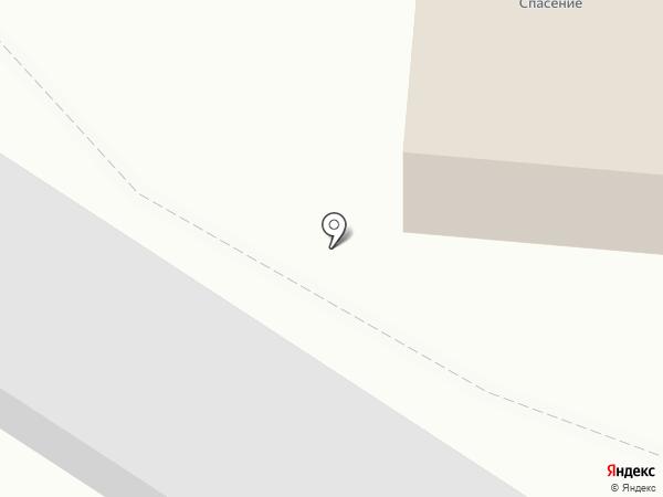 Преображение на карте Зеленодольска
