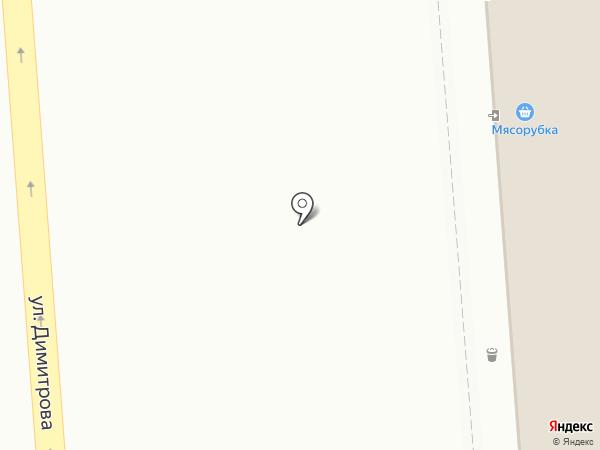 Жар птица на карте Ульяновска