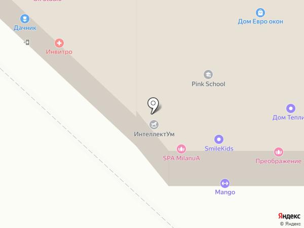 Город Мастеров на карте Ульяновска
