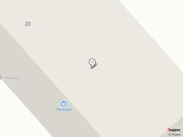 Сеть продуктовых магазинов на карте Зеленодольска