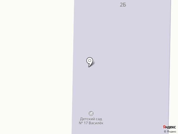 Детский сад №17, Василек на карте Зеленодольска