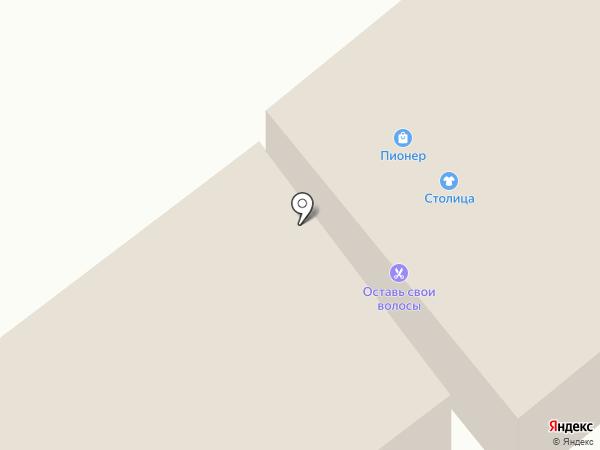 Pioner на карте Зеленодольска