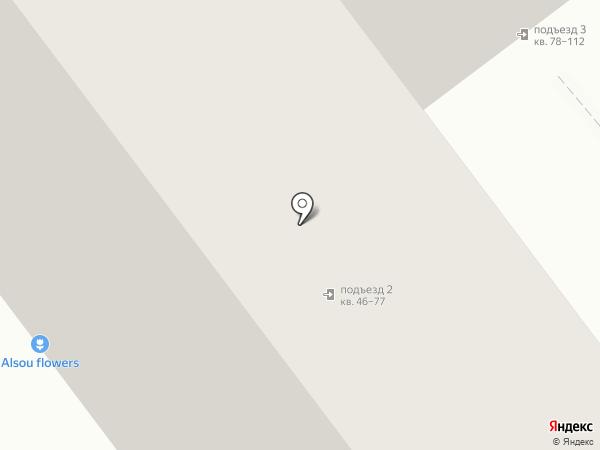 Продовольственный магазин на карте Ульяновска
