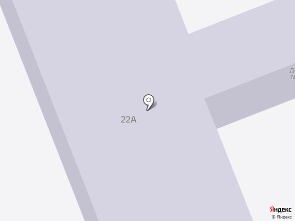 Детский сад №6, Улыбка на карте Зеленодольска