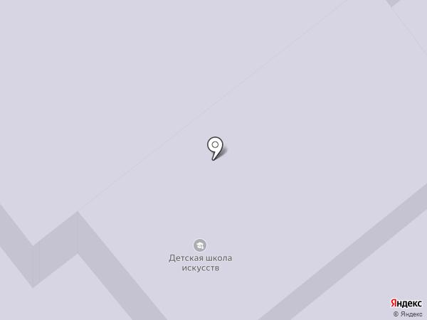 Детская школа искусств на карте Зеленодольска
