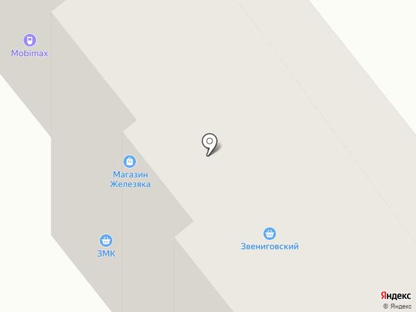 Магазин мяса на карте Зеленодольска