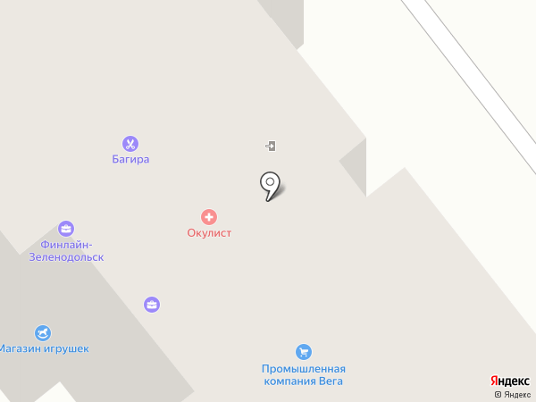 ФОРМАТ на карте Зеленодольска