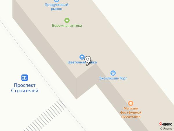 Цветочная лавка на карте Зеленодольска