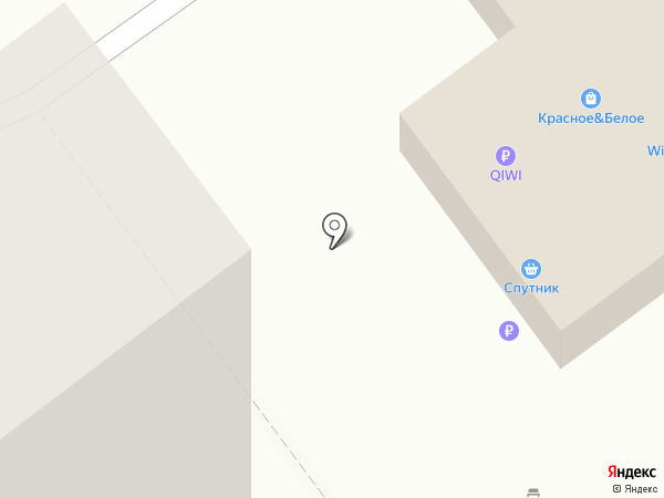Спутник на карте Ульяновска