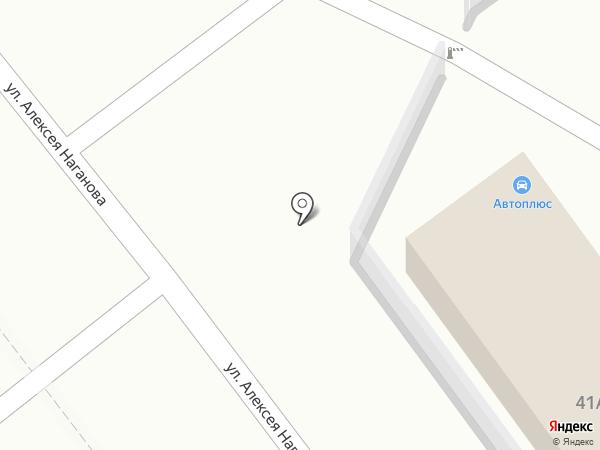 Авто Плюс на карте Ульяновска