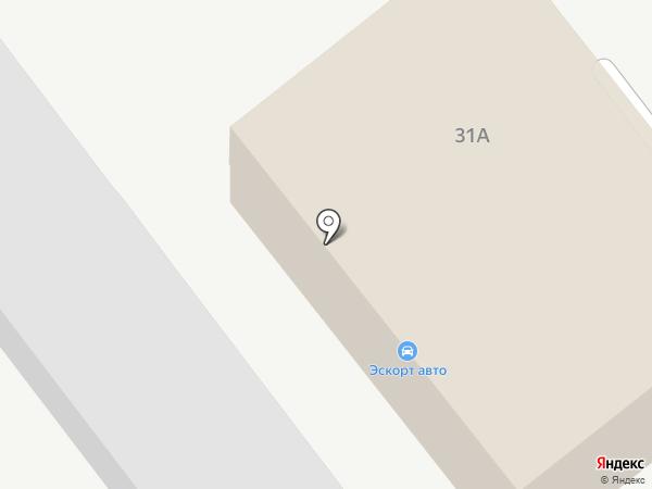 Эвакуатор24 на карте Ульяновска