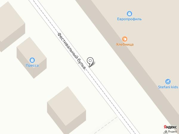 Городок на карте Ульяновска