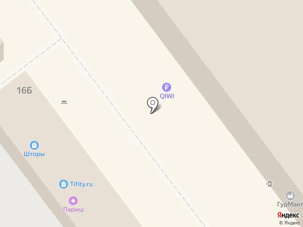 Элекснет на карте Ульяновска