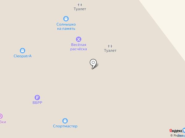 Синай на карте Ульяновска