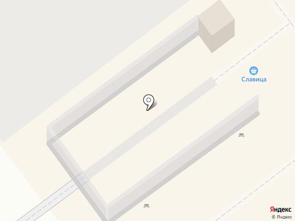 Сорока на карте Ульяновска