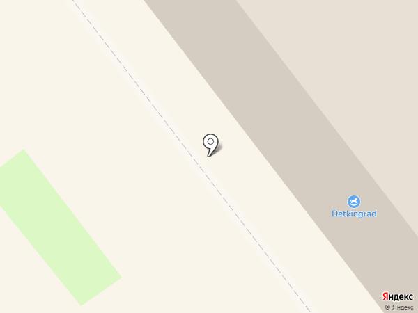 Саламат на карте Ульяновска