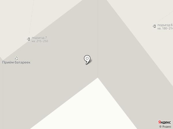 Радэлия на карте Ульяновска