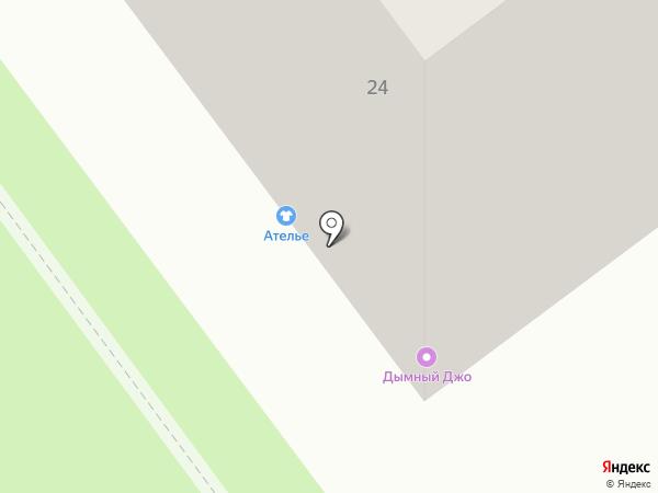 Афина на карте Ульяновска
