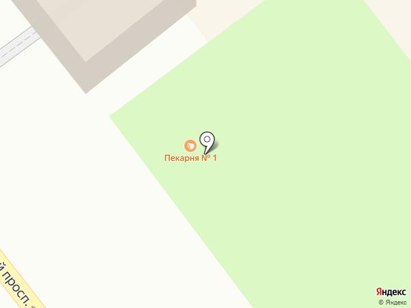 Ульяновская пекарня №1 на карте Ульяновска