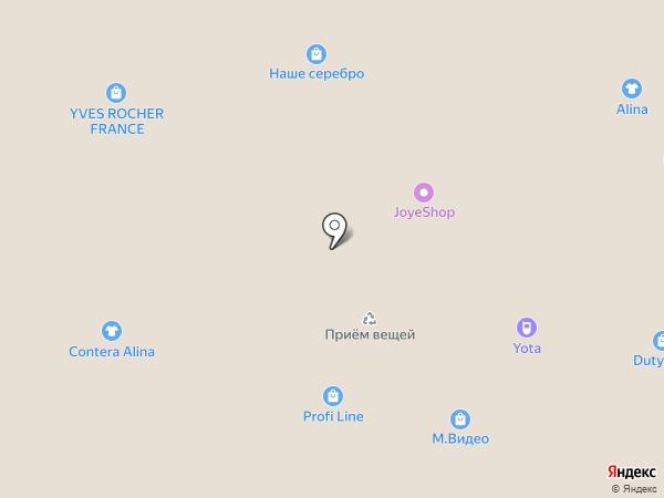 Yota на карте Ульяновска