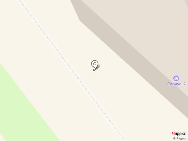 Клинч на карте Ульяновска