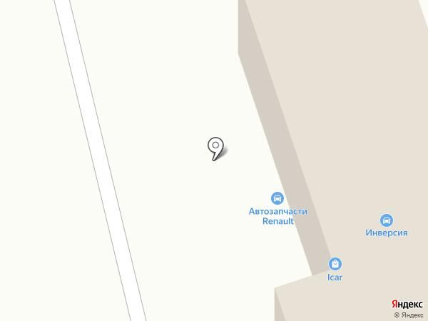 Акос на карте Ульяновска