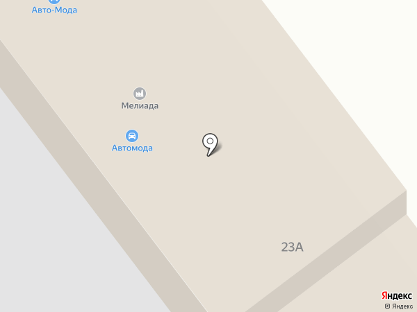 Ателье Avto-Moda на карте Ульяновска