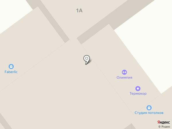 ОЛИМПИЯ на карте Ульяновска