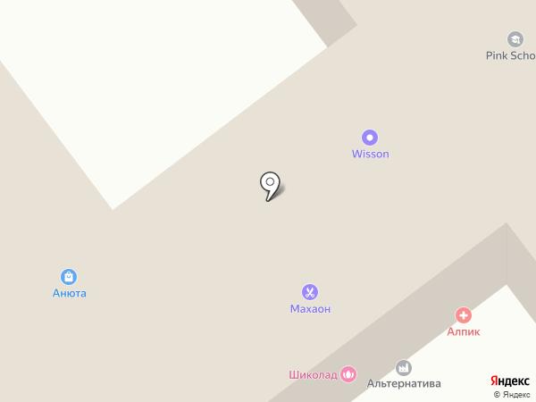 Счастье Суфэль на карте Ульяновска