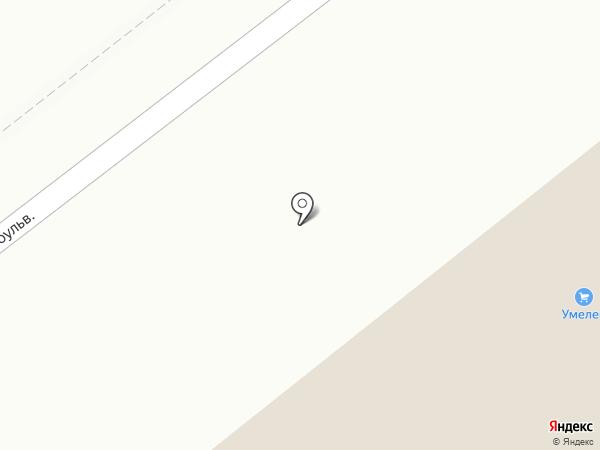 Супермаркет на карте Ульяновска
