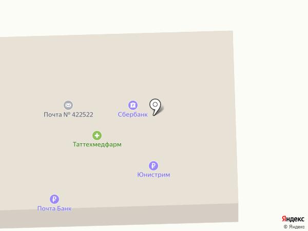 Таттехмедфарм на карте Айши